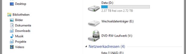 Windows 8.1 und 8 - Ordner unter Dieser PC entfernen