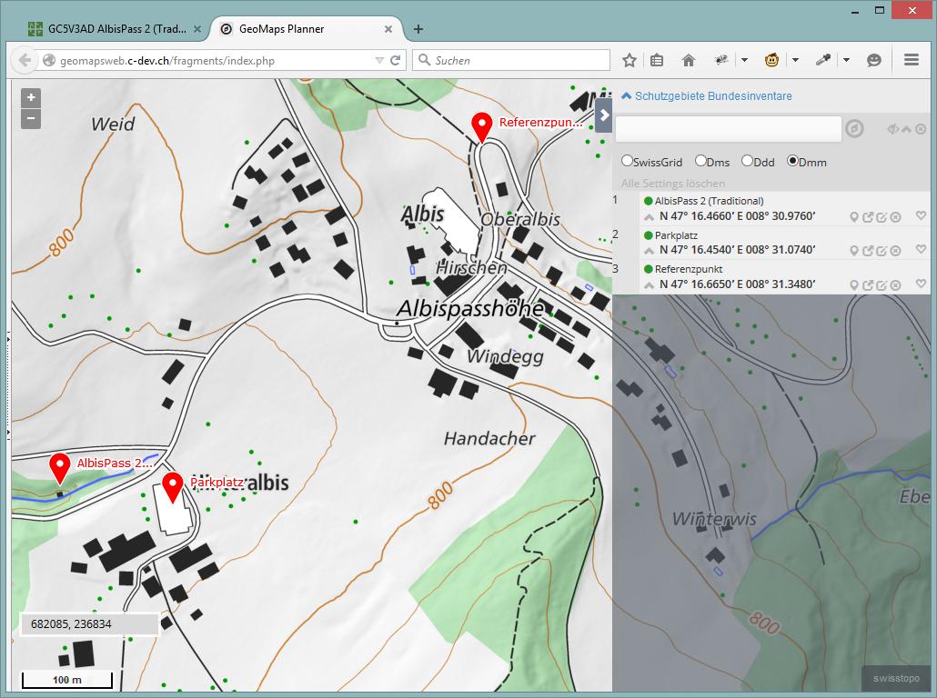 Der neue GeoMaps Planner