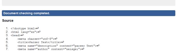 HTML 5, darum ist der parentNode das body element